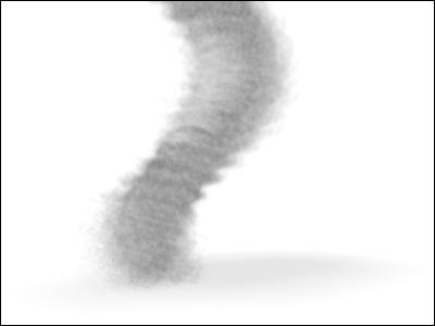 Tornado animation