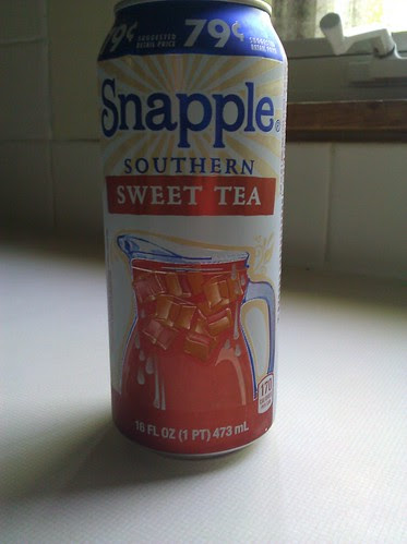 Canned tea is not southern tea