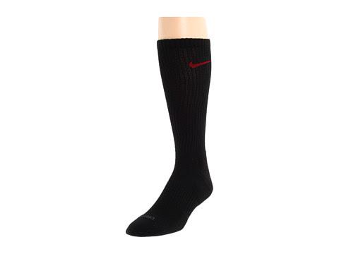 Cheap Nike Dri Fit Half Cushion Crew 3 Pair Pack Black Varsity Red Black Varsity Red Black Varsity Red