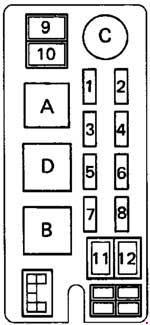Toyota Hilux 1993 Fuse Box Diagram Auto Genius
