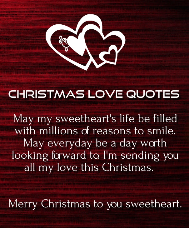 Love Quotes Xmas: Christmas Card For Daughter And Boyfriend