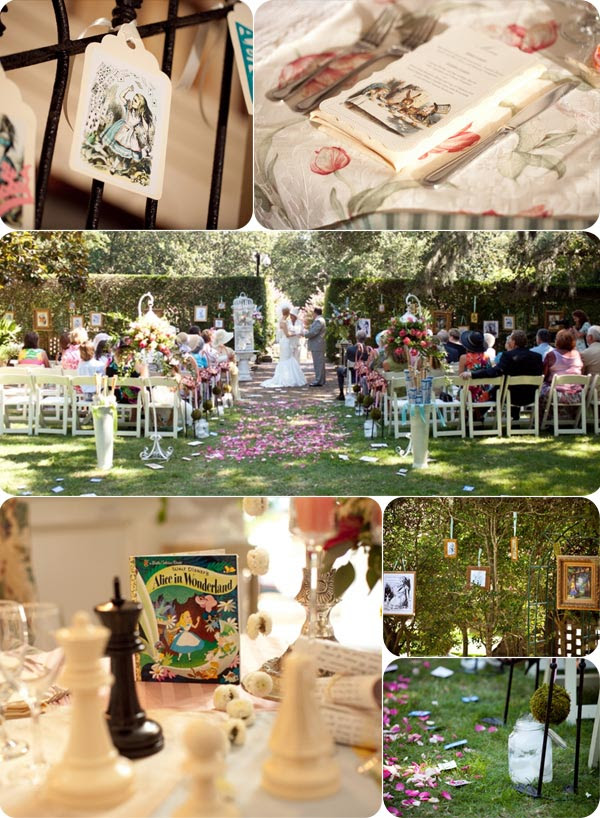 Top 3 Alice In Wonderland Wedding Ideas Tulle Chantilly Wedding Blog