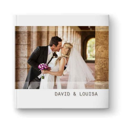 Modern Wedding Album   Photoshop Templates for photographers
