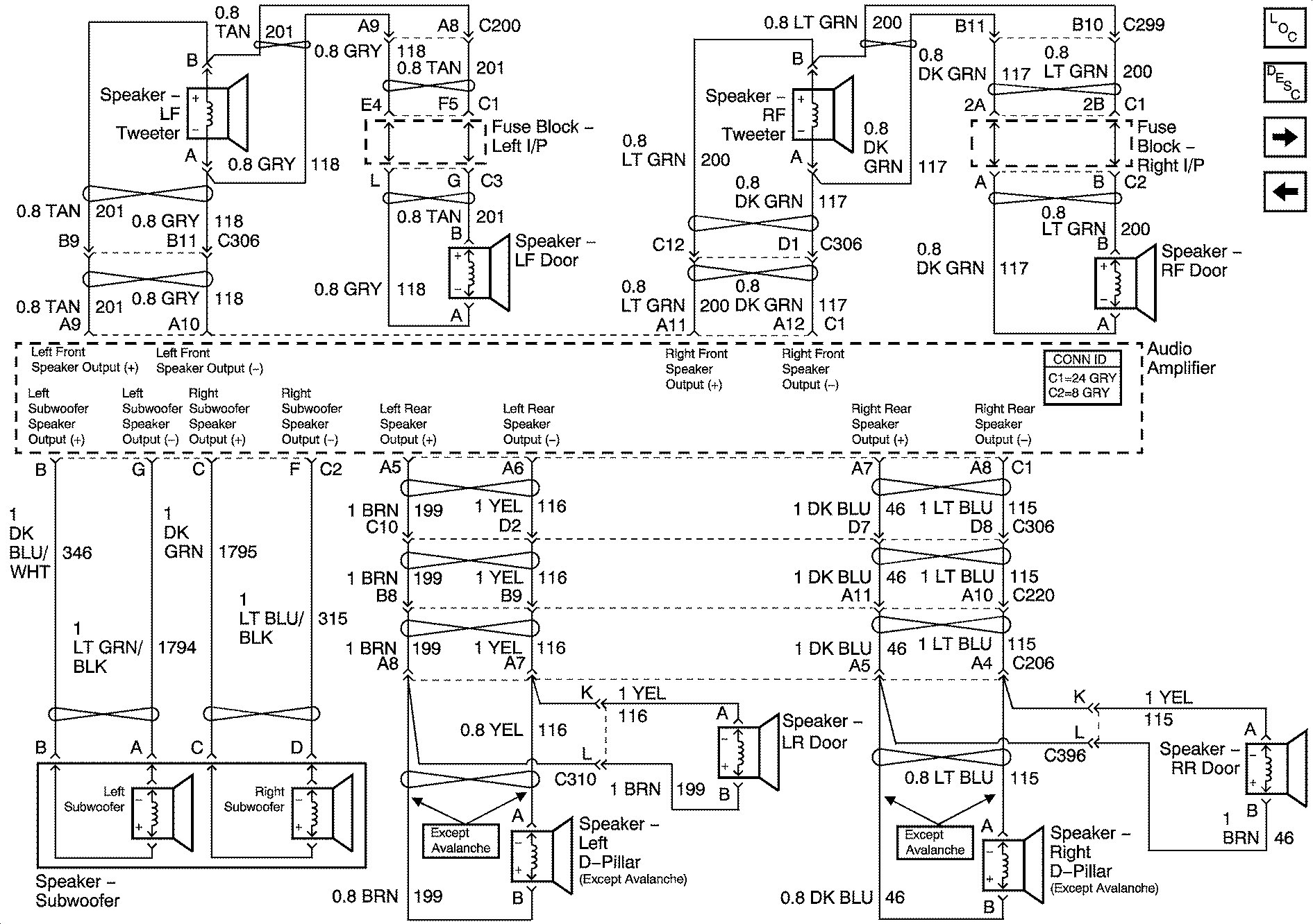 2004 Chevy Bose Wiring Diagram