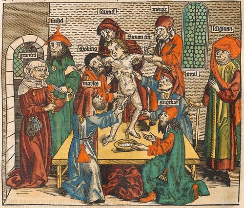 The murder of Simon of Trent - Nuremberg Chronicle