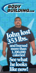 John lost 353 lbs. and burned 1,200,000+ calories