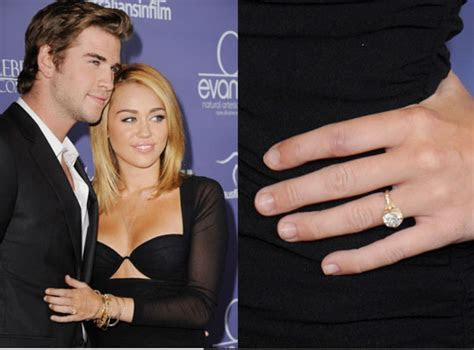 Miley And Liam Engaged?   Entertaiment   Miley cyrus