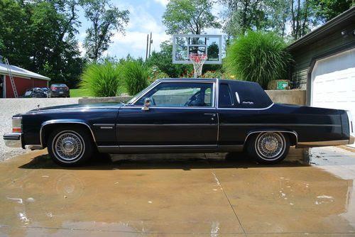 Find used 1982 Cadillac Fleetwood Brougham d'Elegance ...