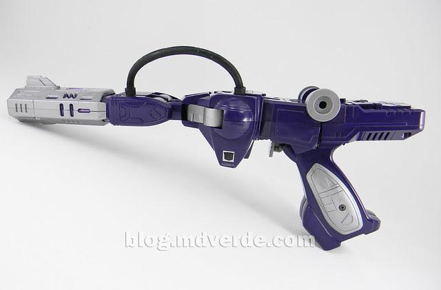 Transformers Shockwave G1 - modo alterno