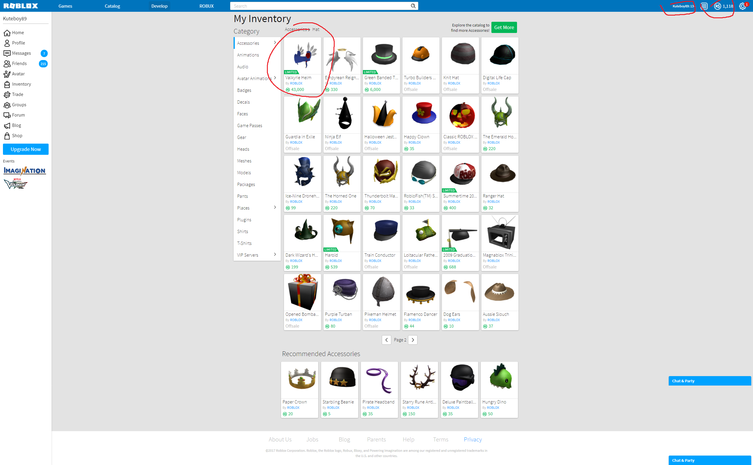 Sold Selling 2007 Roblox Account 70k Rap Limited Items - roblox accounts selling