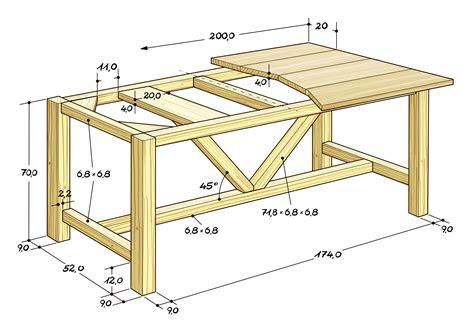 esstisch selber bauen  tische amudame