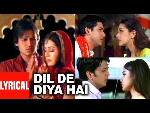 Dil De Diya Hai Lyrics - Anand Raj Anand / दिल दे दीया है लिरीक्स