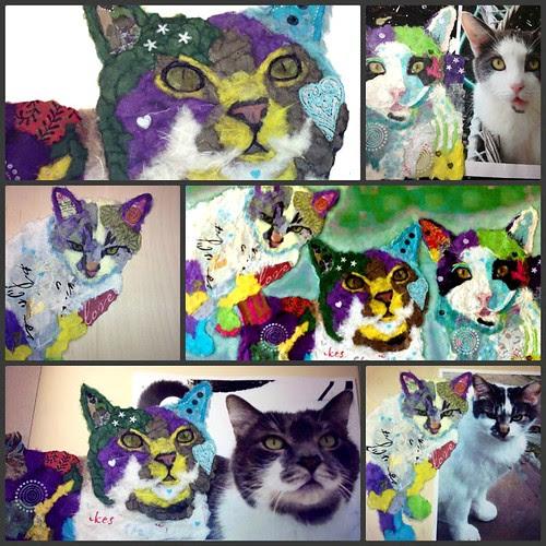 Torn-Paper-Cat-Portraits