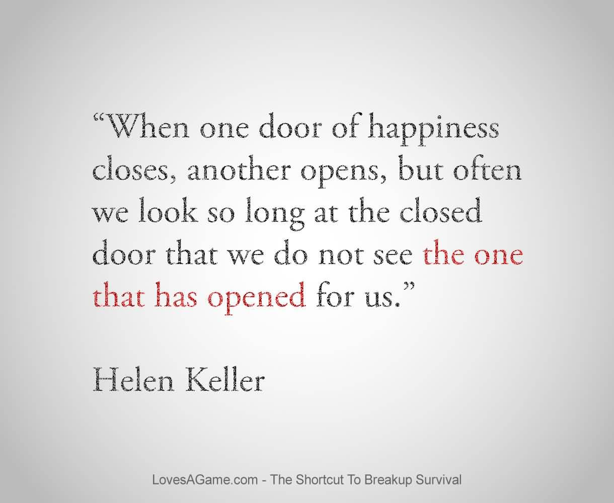 Quotes About Close Door 89 Quotes