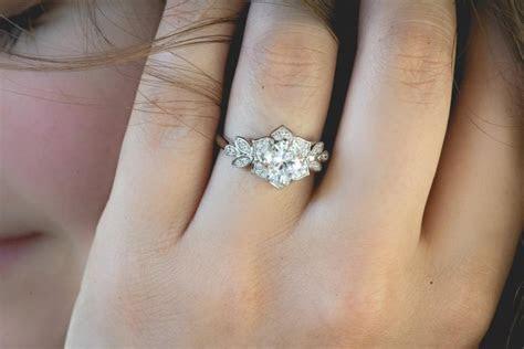 Art Deco Engagment Ring, Wedding Ring, Promise Ring
