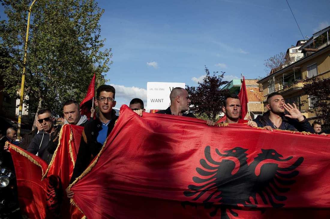 Έχουν αποθρασυνθεί οι Τσάμηδες! Ετοιμάζουν πορεία στα Ελληνοαλβανικά σύνορα