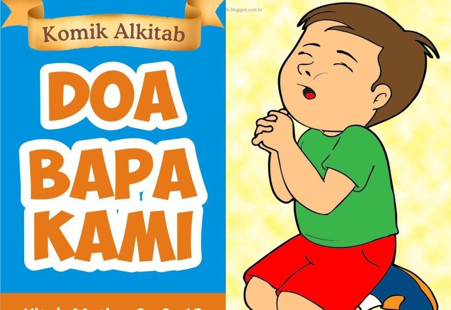 gambar mewarnai anak berdoa kristen