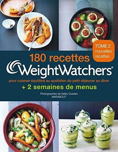 Gratuit 180 recettes Weight Watchers - Tome 2: pour ...