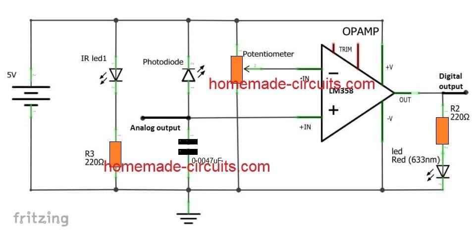 Ir Diode Detector Circuit
