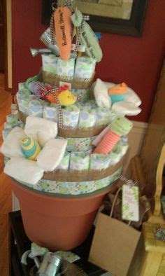 Fairy Garden Diaper Cake. The Shire Inspired. Lord of the