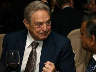 George Soros sống sót qua thảm họa đối với người Do Thái