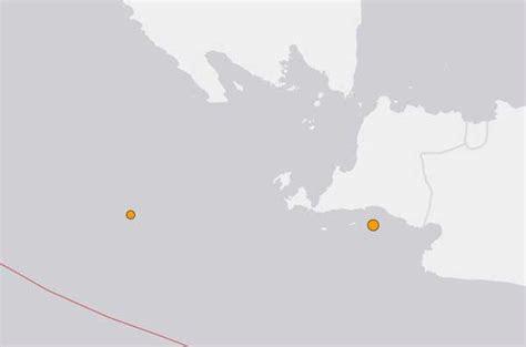 gempa binuangeun indonesia pandeglang banten  nopember