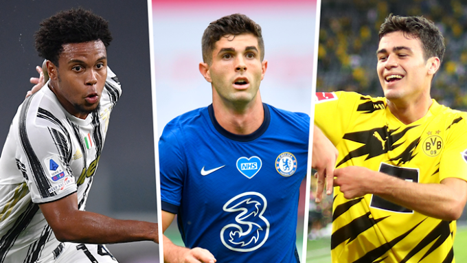 For the first time, U.S. internationals have scored in the Premier League, Bundesliga & Serie A on the same day
