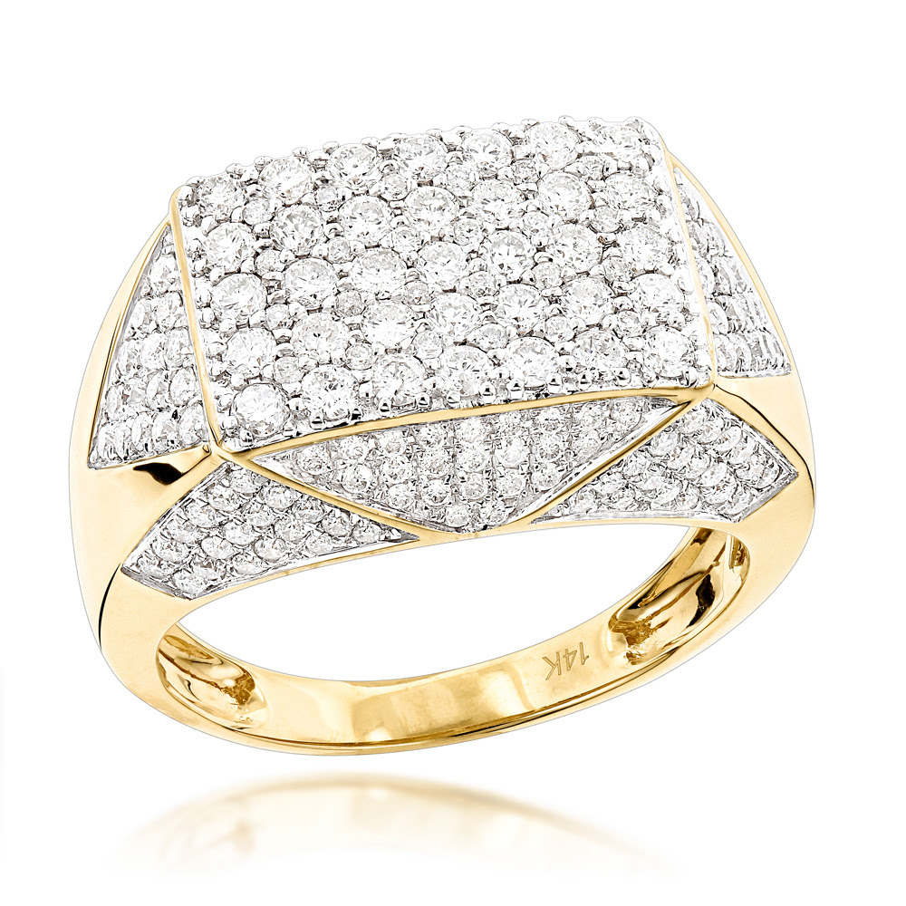 79 MANS ONYX PAVE EAGLE SIMULATED DIAMONDS MENS RING ALL SIZES SIGNET PINKY GOLD