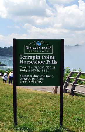 Signage for Terrapin Point