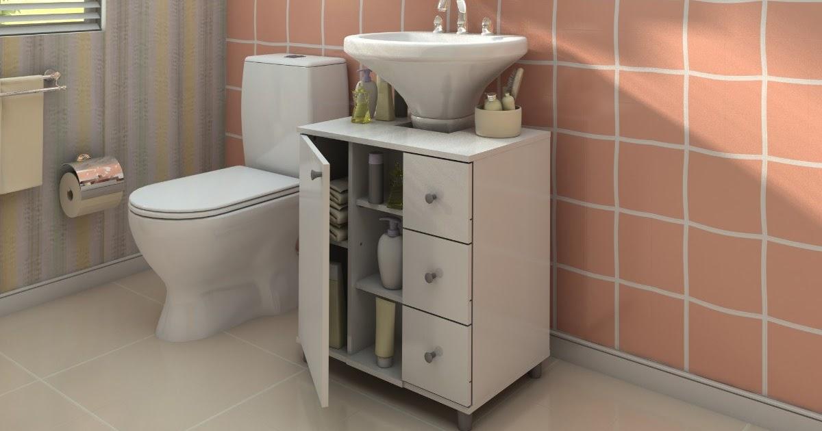 Gabinete Para Banheiro Banheiro com armario -> Armario De Banheiro Mobly