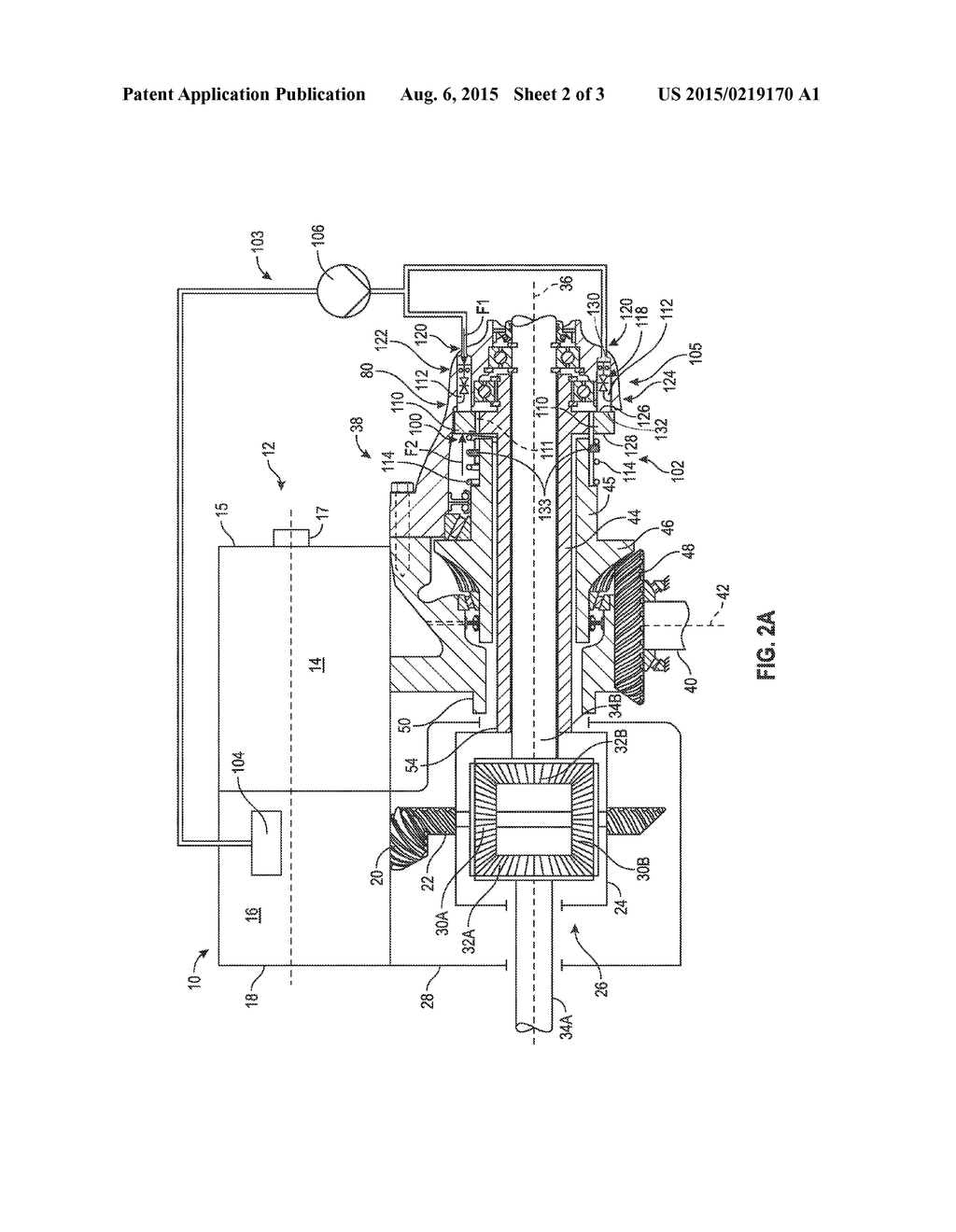 Hydraulic Modular Power Transfer Unit Assembly Including A Disconnect Mechanism Using Automatic Transmission Line Pressure Diagram Schematic And Image 03