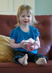 Moira at 24 months