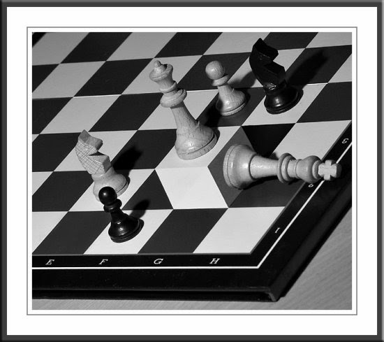 Chess Board optical illusion