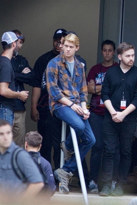 Taylor Swift's boyfriend Joe Alwyn films Boy Erased in Atlanta