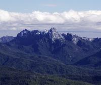 Federation Peak from Hartz Peak - 4th August 2008