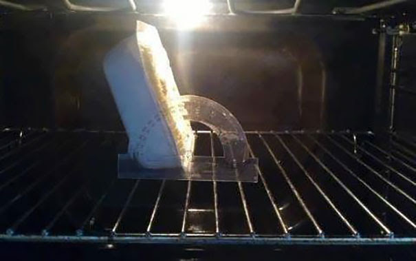 My Wife Asked Me To Put The Cake In The Oven At 120 Degrees. Took Some Doing, But I Managed It