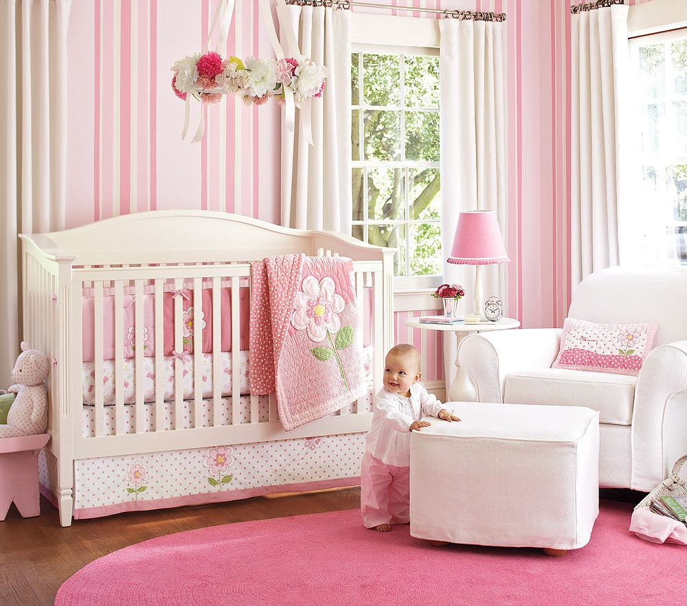 Pictures Of Baby Girl Nursery Rooms  Baby Interior Design