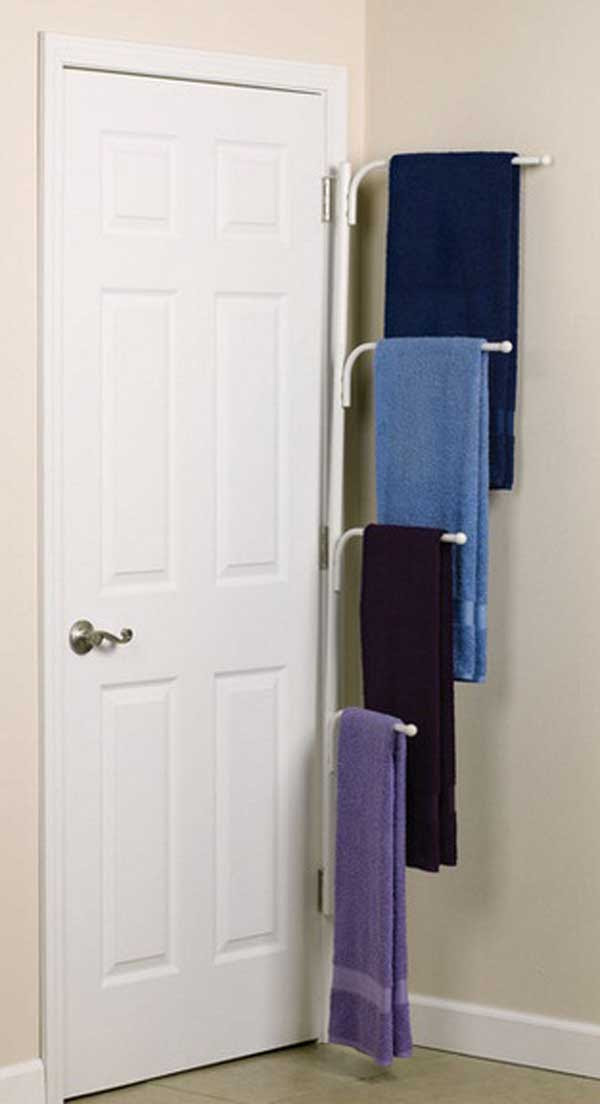 32 of The Most Genius DIY Projects to Keep Bath Towels ...