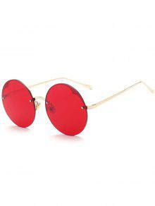 Gafas de sol semirrígidas redondas