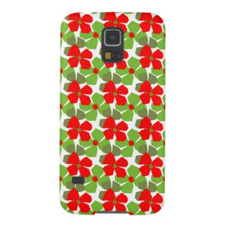Seasonal Flowers on Samsung Galaxy S5 Case