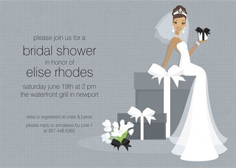free bridal shower invitation templates   free wedding