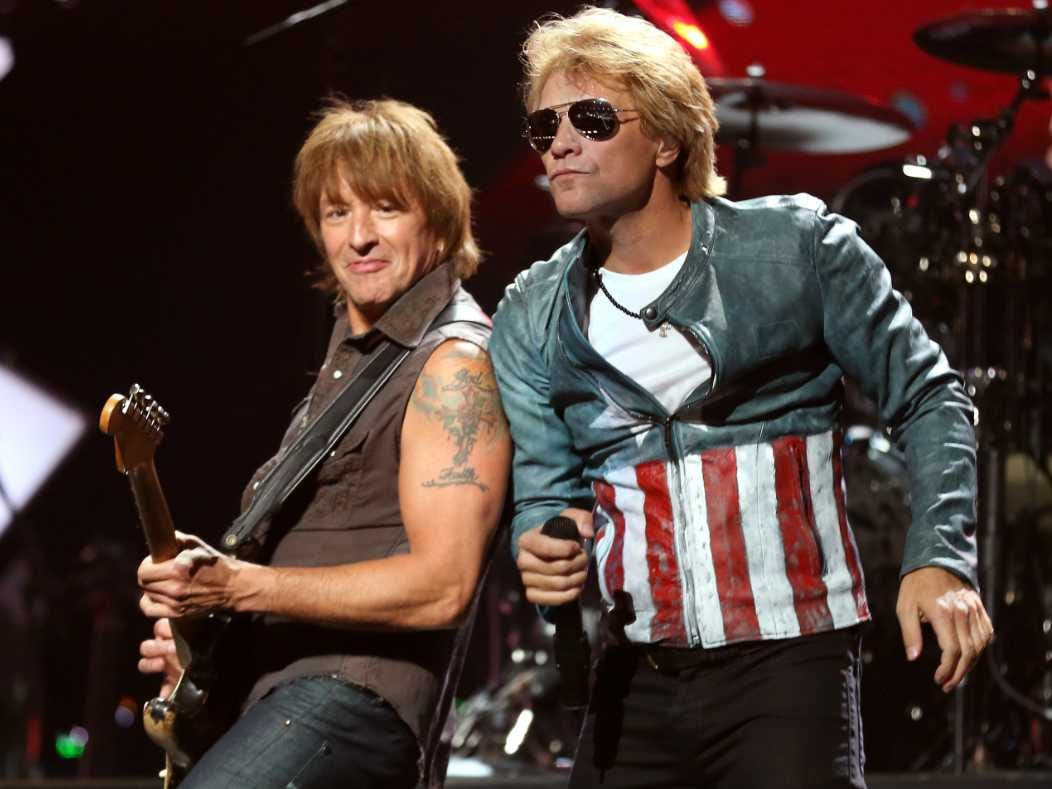 Jon Bon Jovi Richi Sambora