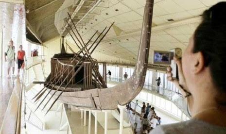 Perahu Firaun Dinasti Pertama Ditemukan