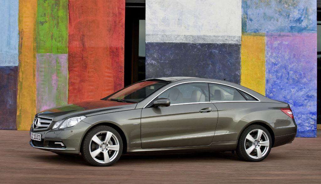 Geneva 2009: Mercedes-Benz E Class Coupe revealed