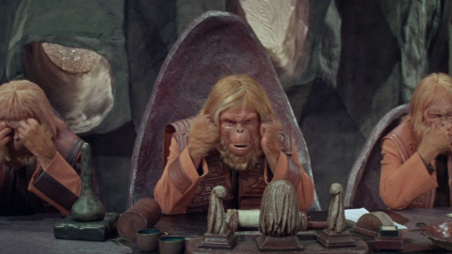 Planet Of The Apes Review The 1968 Film Stars Charlton Heston