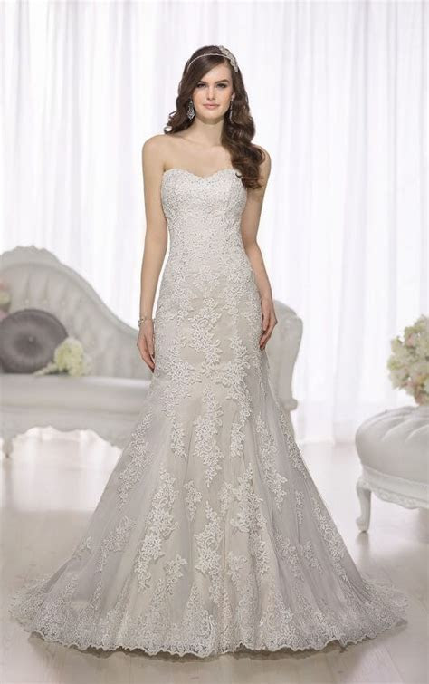 Wedding Dresses   Drop Waist Wedding Dress   Essense of