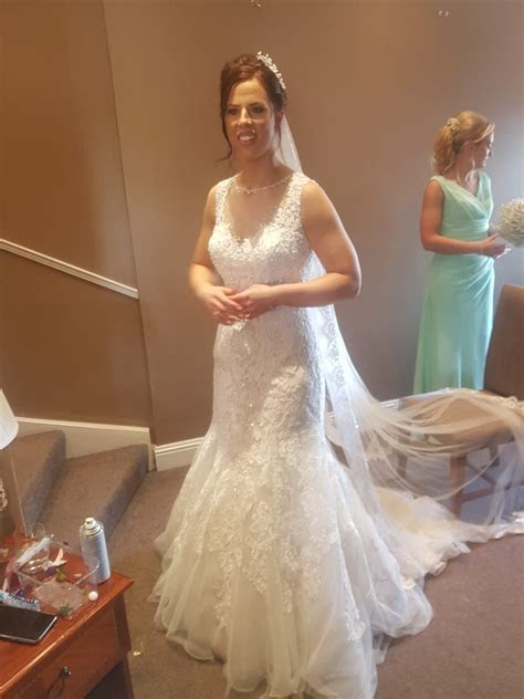 Kenneth Winston 1565 Beautiful Detailed Wedding Dress and