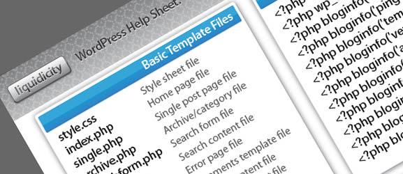 Liquidicity -  Wordpress help sheet