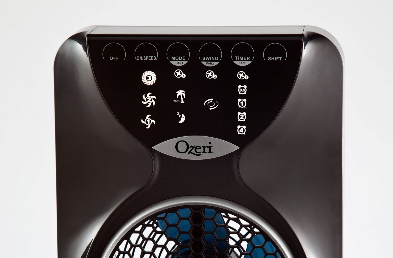 "Ozeri 3x Tower Fan (44"") with Passive Noise Reduction Technology"