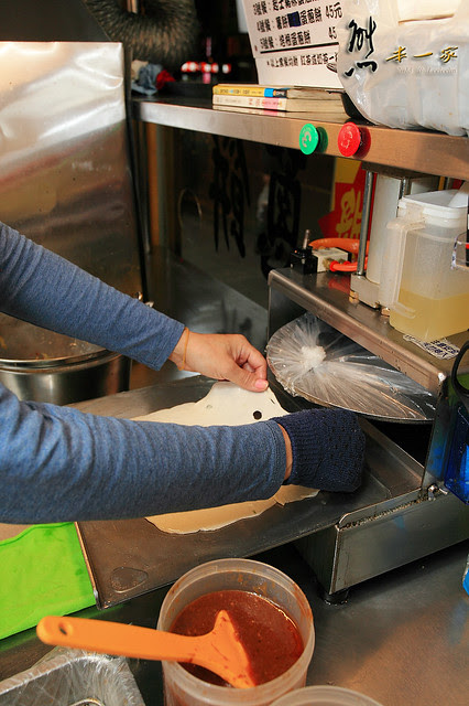 爆漿炸蛋蔥餅|潘家花蓮炸蛋蔥餅